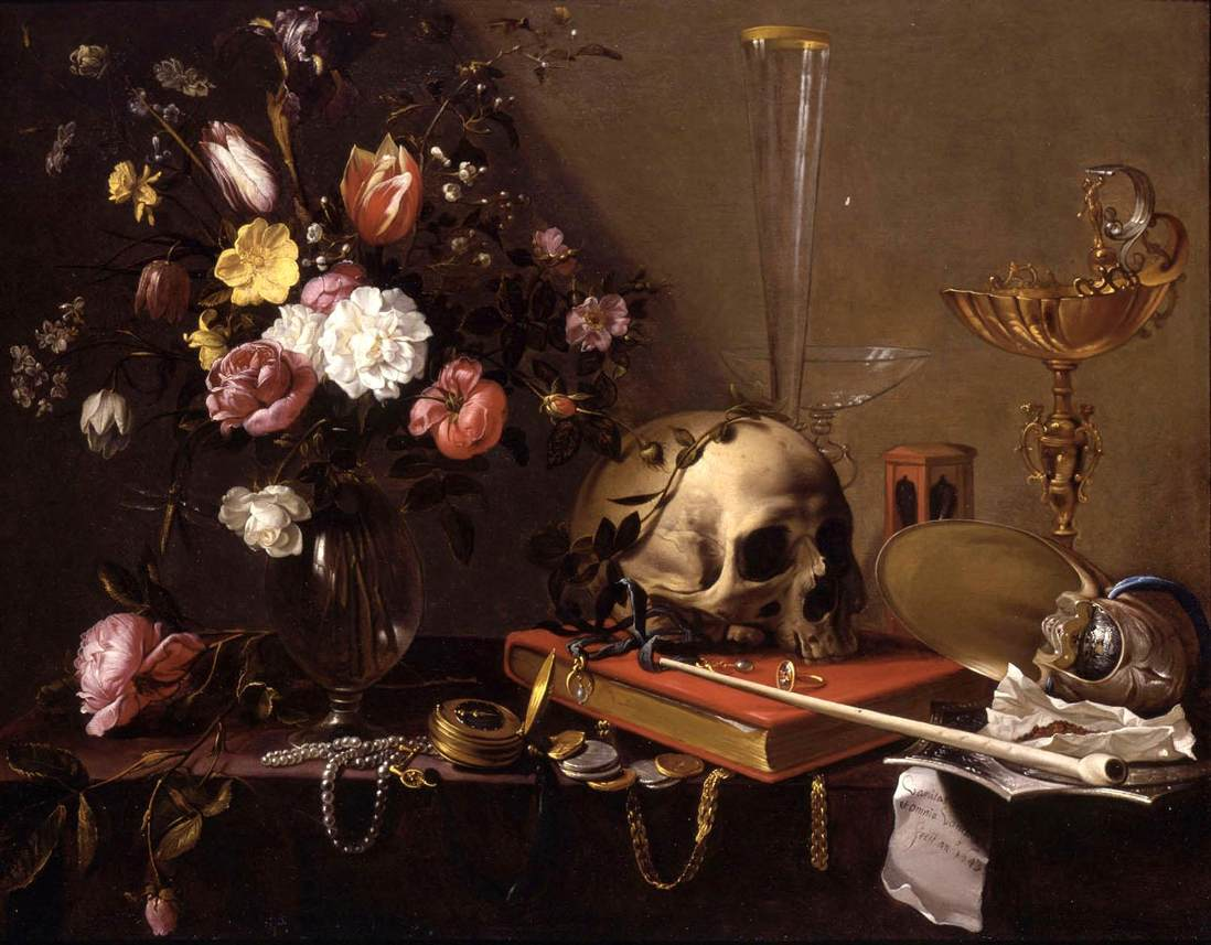 The futility of all an introduction to vanitas art for Define baroque art